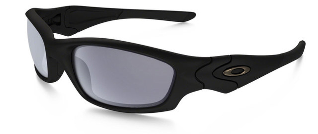 265359150b Oakley SI Straight Jacket with Matte Black Frame and Grey Polarized Lens