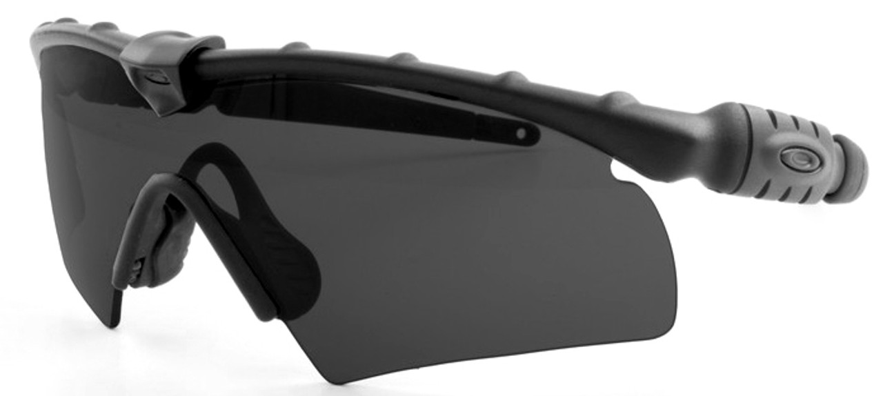 70f8625f0f854 Oakley SI Ballistic M Frame 2.0 Hybrid with Black Frame and Grey Lens -  Safety Glasses USA