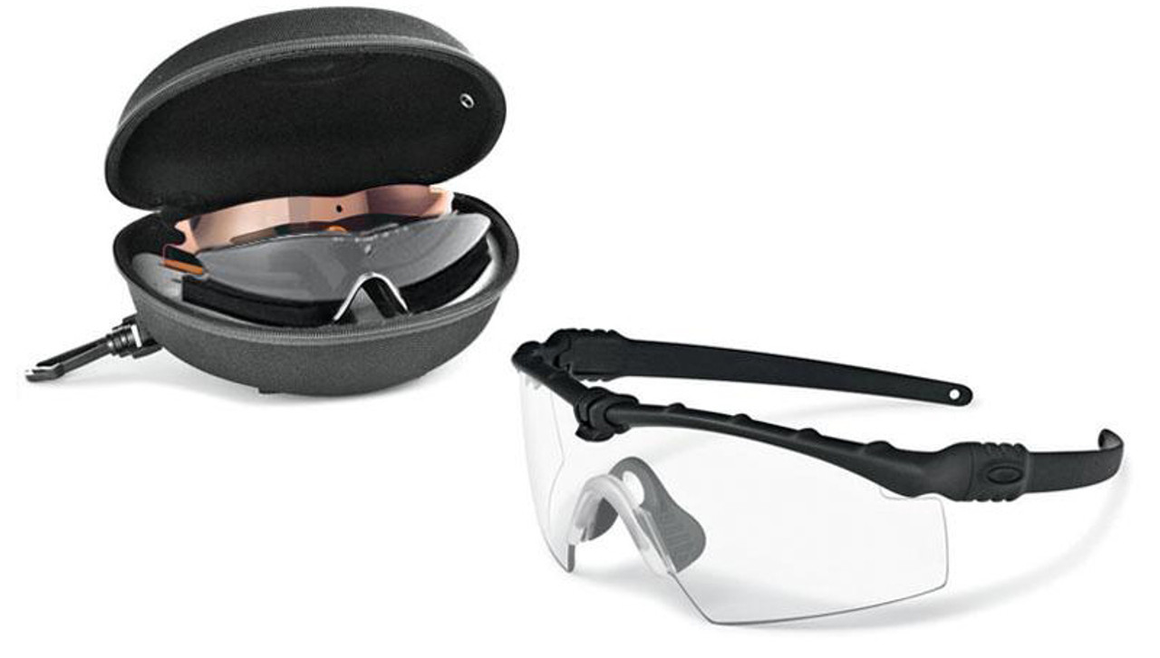 66636f2fce Oakley SI Ballistic M Frame 3.0 Array with Black Frame and Clear ...