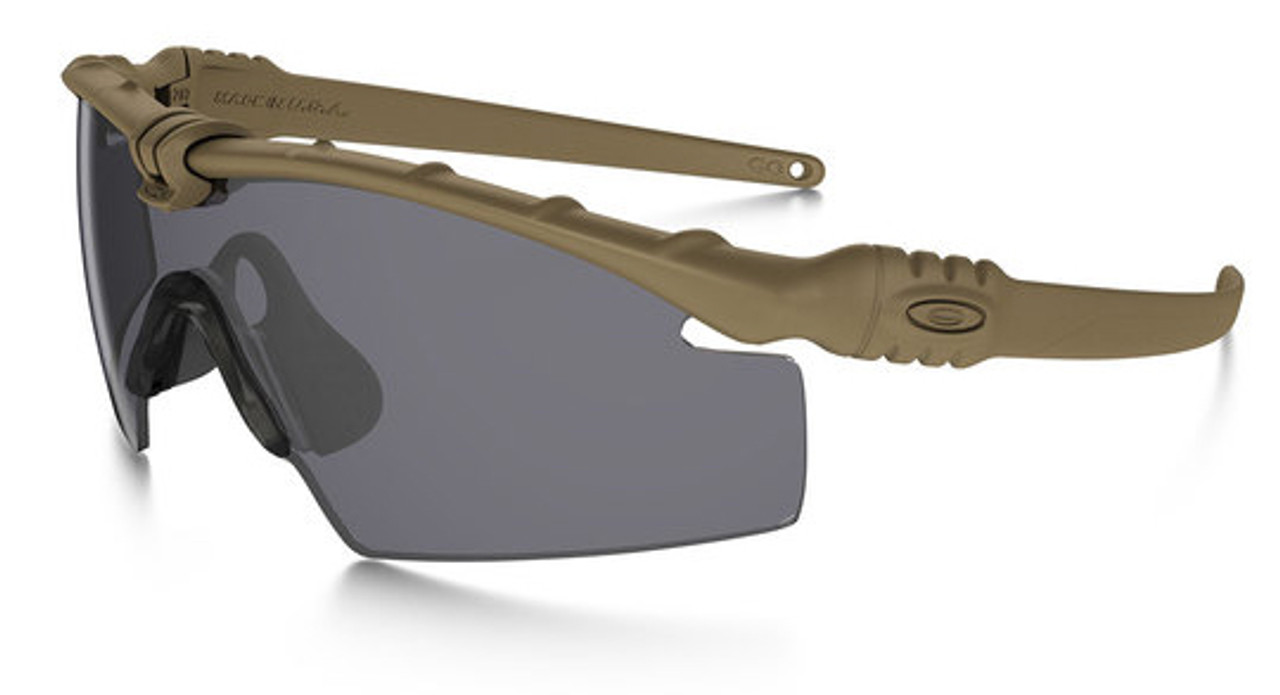 8372b7de13 Oakley SI Ballistic M Frame 3.0 with Dark Bone Frame and Grey Lens - Safety  Glasses USA