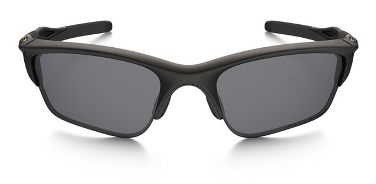 Oakley Half Jacket 2 0 Xl >> Oakley SI Half Jacket 2.0 XL with Matte Black Frame and Grey Polarized Lenses - Safety Glasses USA