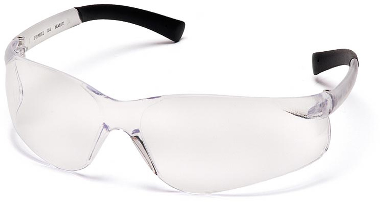 7c26438364 Pyramex Ztek Safety Glasses with Clear Anti-Fog Lens