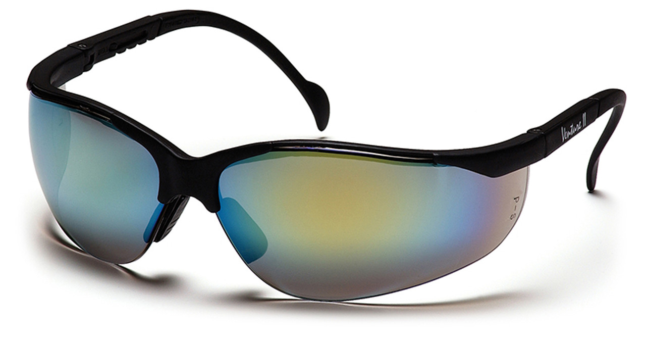 Blue Lens Pyramex Venture 3 Infinity NEW safety glasses