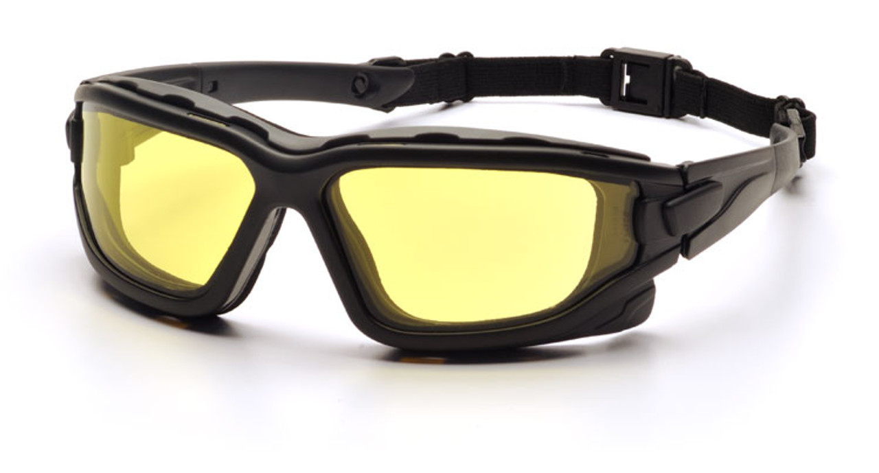 Pyramex Highlander Plus Anti-Fog Ballistic Safety Glasses Pick Lens Color 1 Pair