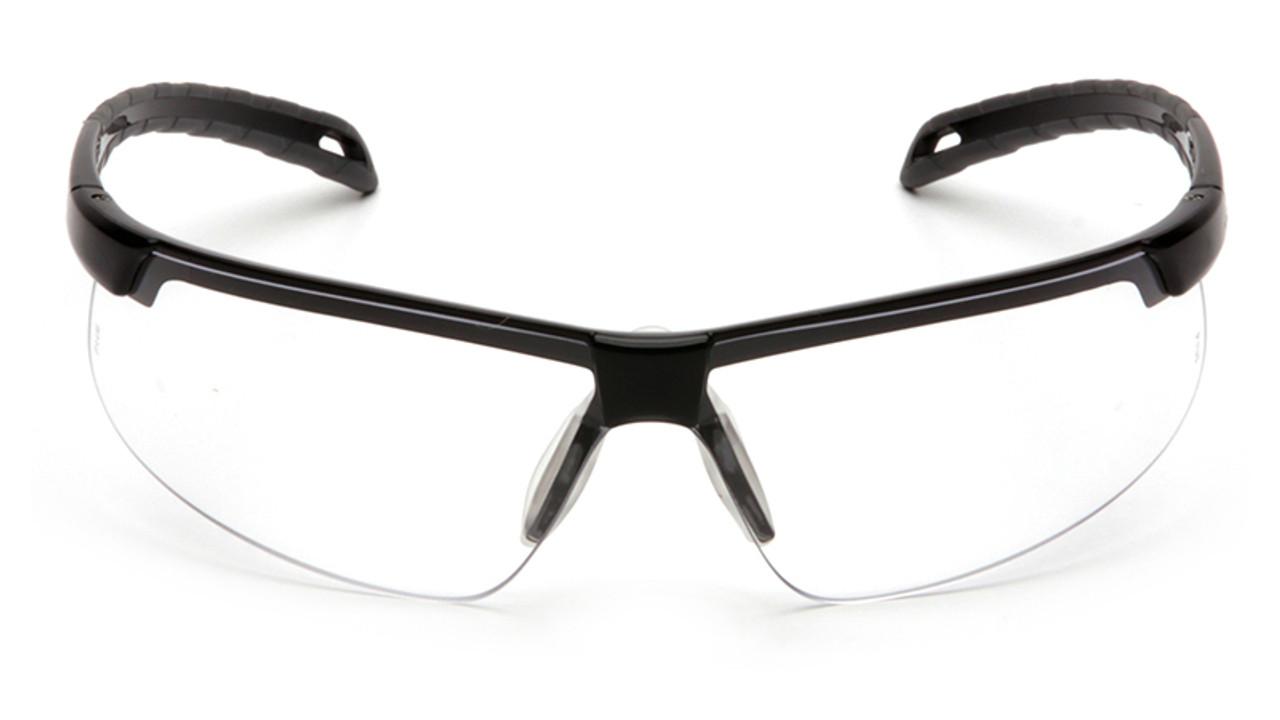 Pyramex Safety Glasses Ever-Lite Gray Lens with Black Frame SB8620D