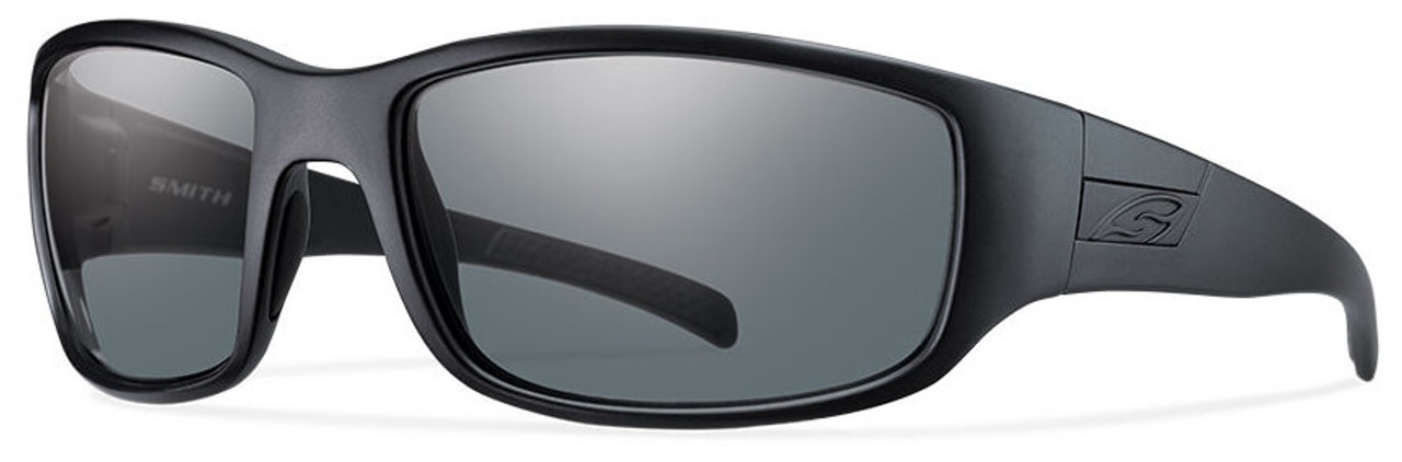 6c2e02a682 Smith Elite Prospect Tactical Ballistic Sunglasses with Black Frame and  Gray Lens