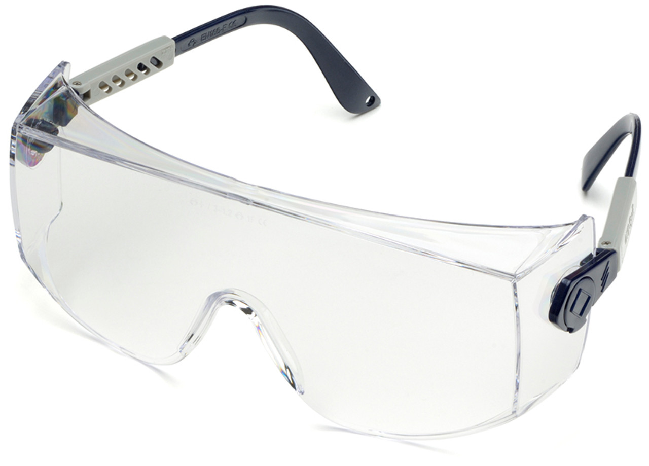 51b383ca35b Elvex OVR-Spec Safety Glasses with Clear Lens