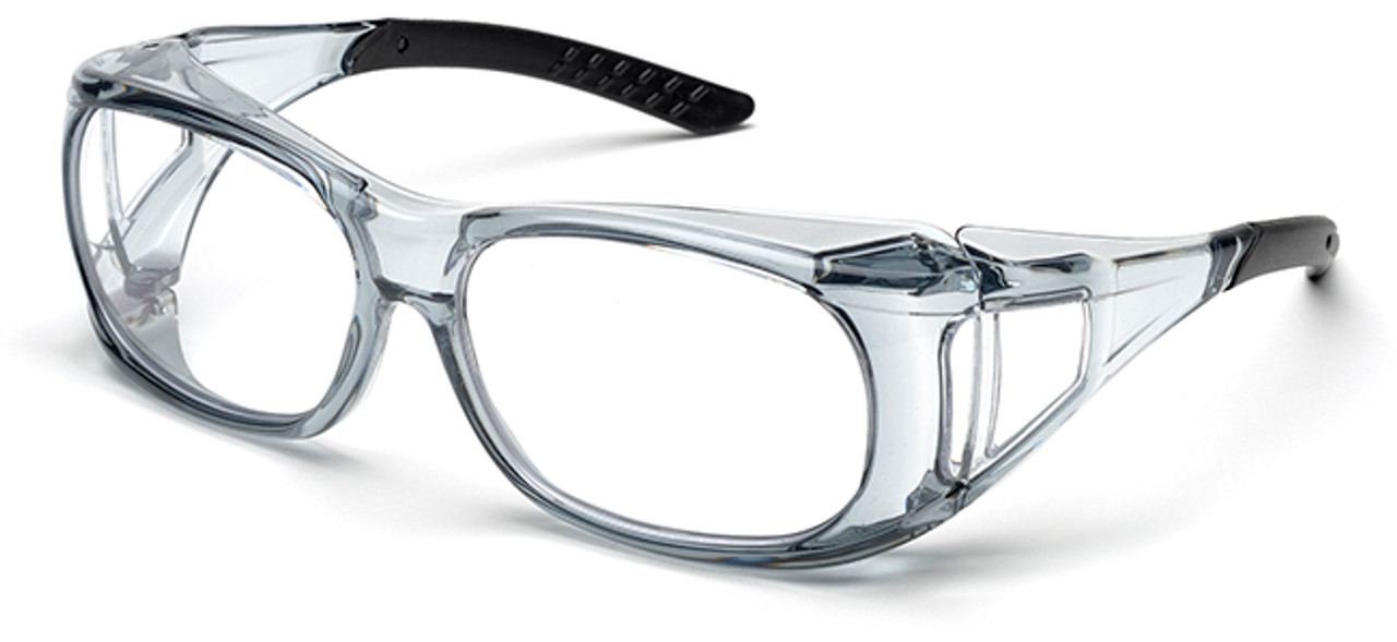 c16d45657908 Elvex OVR-Spec II Safety Glasses with Translucent Frame and Clear Lens