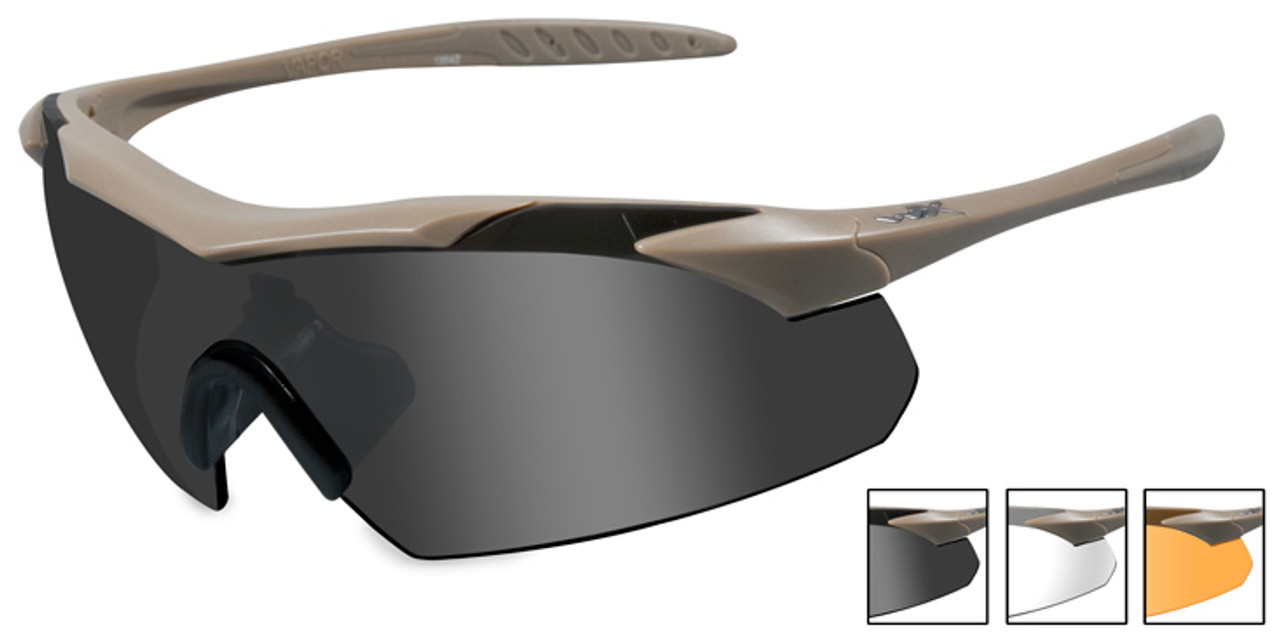 Fuse Lenses Non-Polarized Replacement Lenses for Wiley X Slay