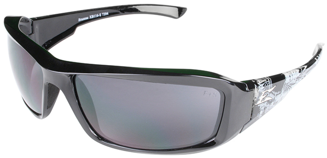 c8f6310323 Edge Brazeau Designer Series with Black Gray Skull Frame and Smoke Lens