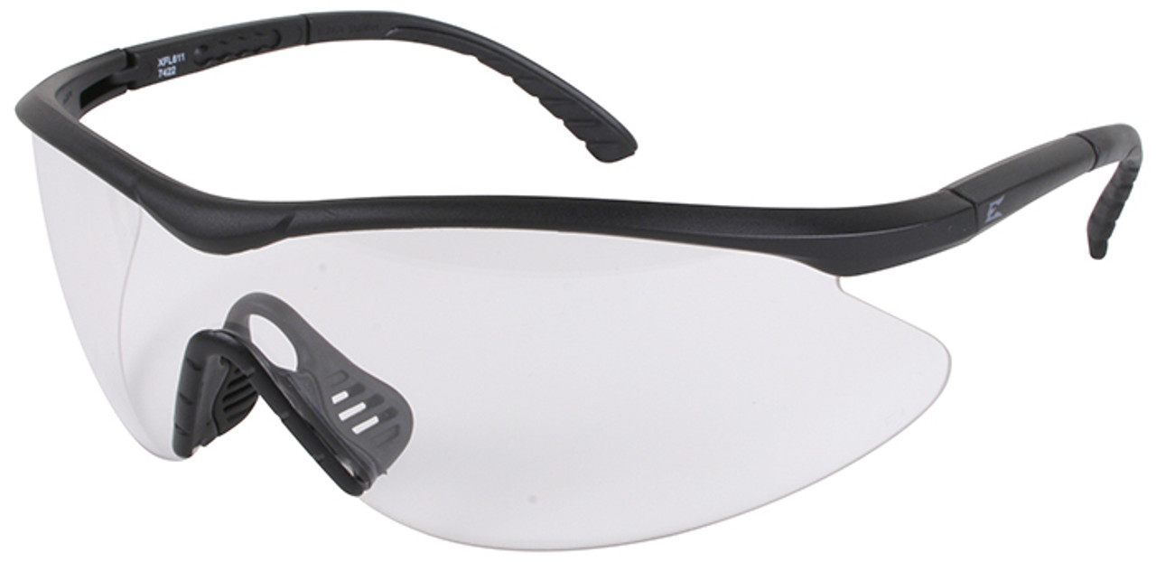 5fc39dc159 Edge Fast Link Tactical Safety Glasses with Black Frame and Clear Lens