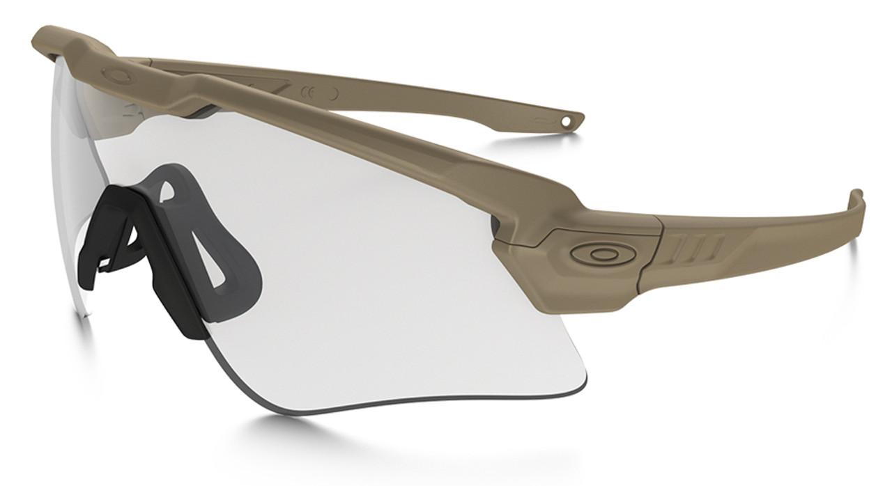 f1db0fd4803 Oakley SI Ballistic M Frame Alpha Sunglasses with Terrain Tan Frame and  Clear Lens