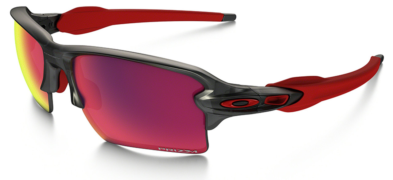 98340de37e Oakley Flak Jacket 2.0 XL Sunglasses with Grey Smoke Frame and ...