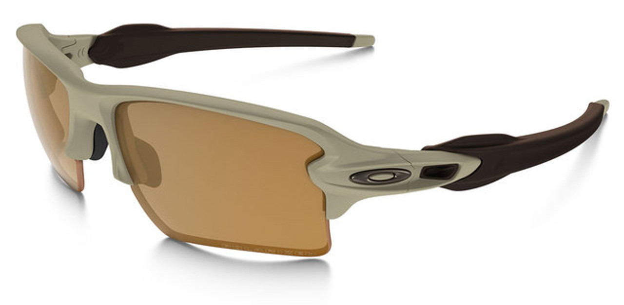 0227e1b450b Oakley SI Flak Jacket 2.0 XL with Desert Frame and Bronze Polarized Lens