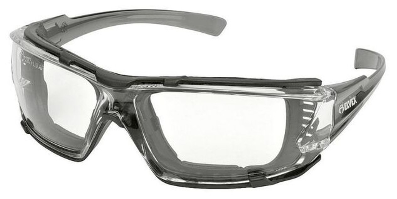 b0b6dd8172 Elvex Go-Specs IV Safety Glasses with Gray Temples
