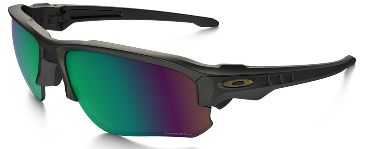 de03e3ce57 Oakley SI Speed Jacket Safety Sunglasses with Satin Black Frame and Prizm  Shallow Water Polarized Lens