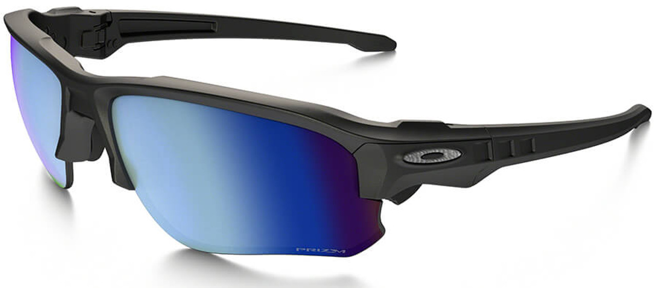 ca417b6536b Oakley SI Speed Jacket Safety Sunglasses with Matte Black Frame and Prizm  Deep Water Polarized Lens