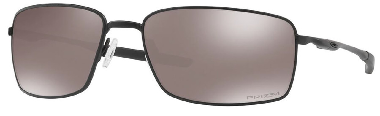 b47a8701e4 Oakley SI Blackside Square Wire Sunglasses with Matte Black Frame and Prizm  Black Polarized Lens