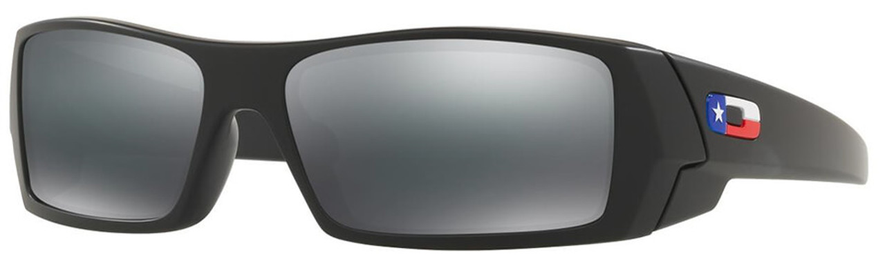 b75835437a Oakley SI Gascan Sunglasses with Matte Black Texas Flag Frame and Grey Lens