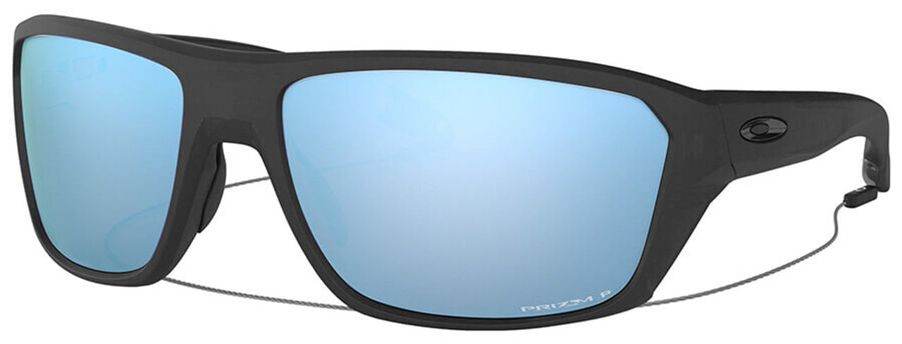 03d21d88fb Oakley SI Split Shot Sunglasses with Matte Black Frame and Prizm Deep Water Polarized  Lens