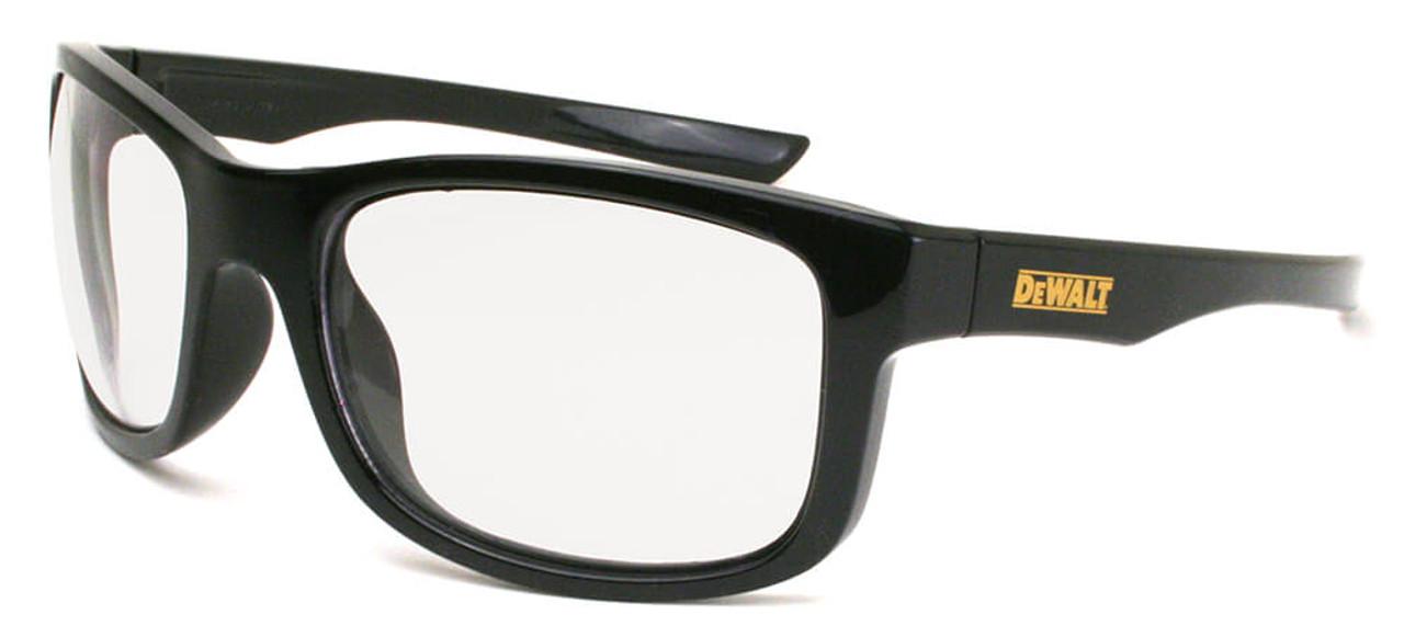 Radians DPG98-YD Dewalt Gable Wraparound Frame Safety Glasses with Yellow Mirror Lens
