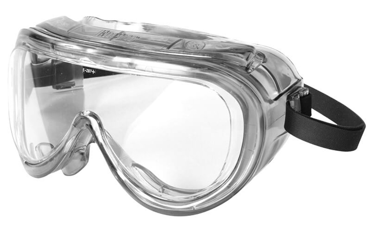 4 x General Purpose Clear Direct Vented Safety Goggles Glasses Eye Protection