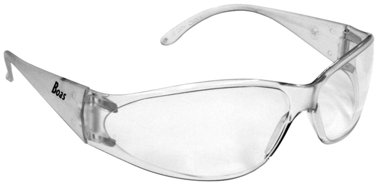 1986d88dd89 ERB Boas Safety Glasses with Clear Frame and Clear Lens