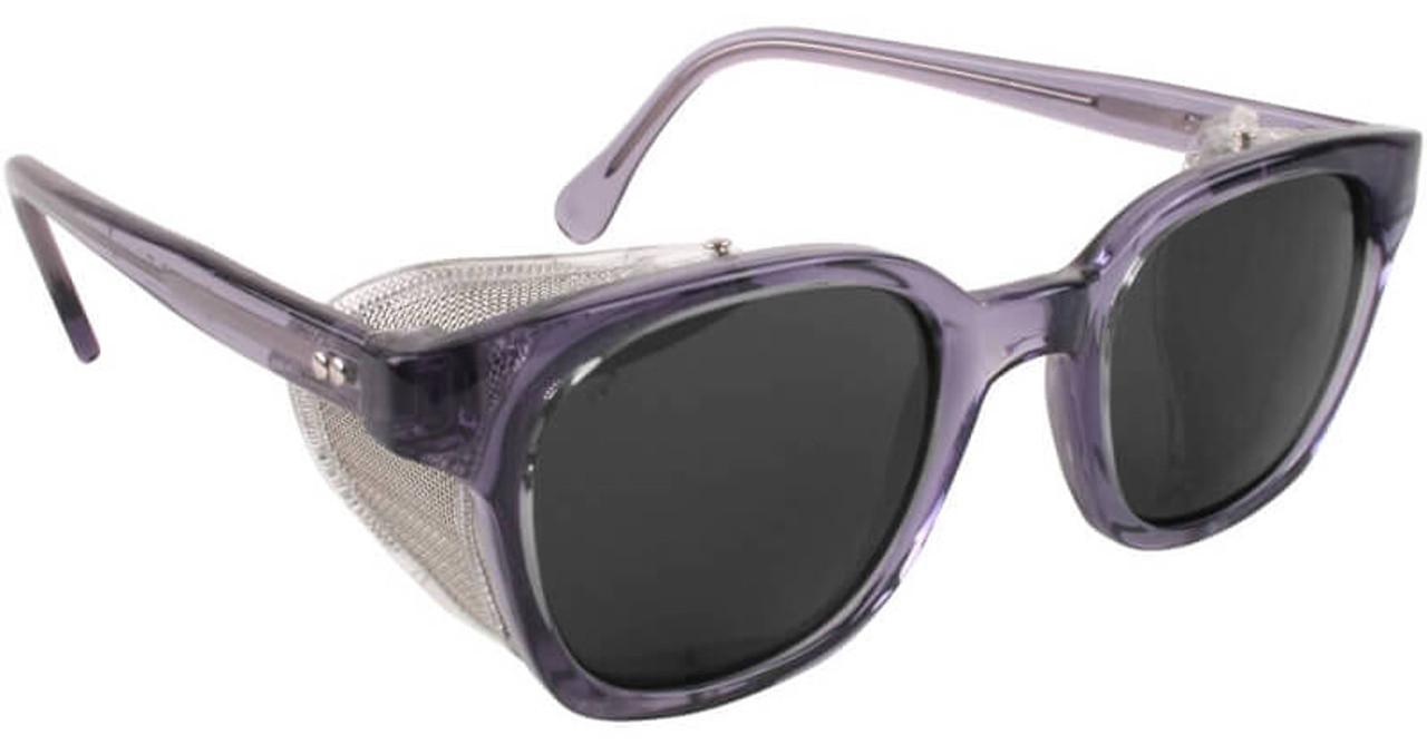 71c7606a3ebc Bouton Traditional Safety Glasses Smoke Frame