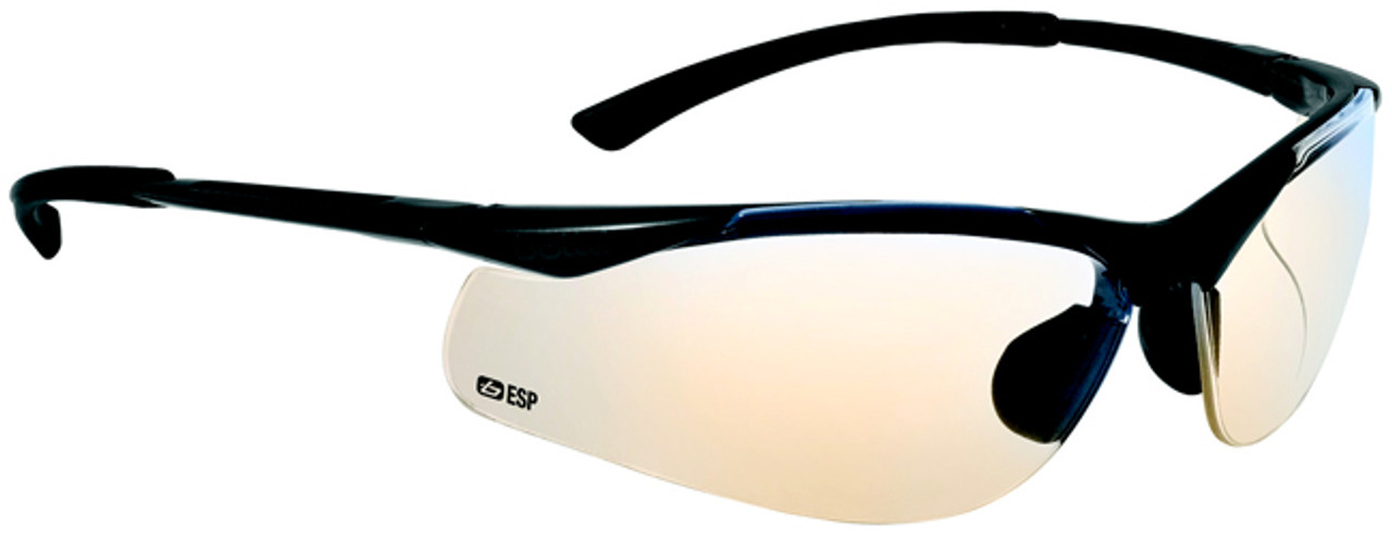233e609ba5 Bolle Contour Safety Glasses with Gunmetal Frame and ESP Anti-Scratch Lenses