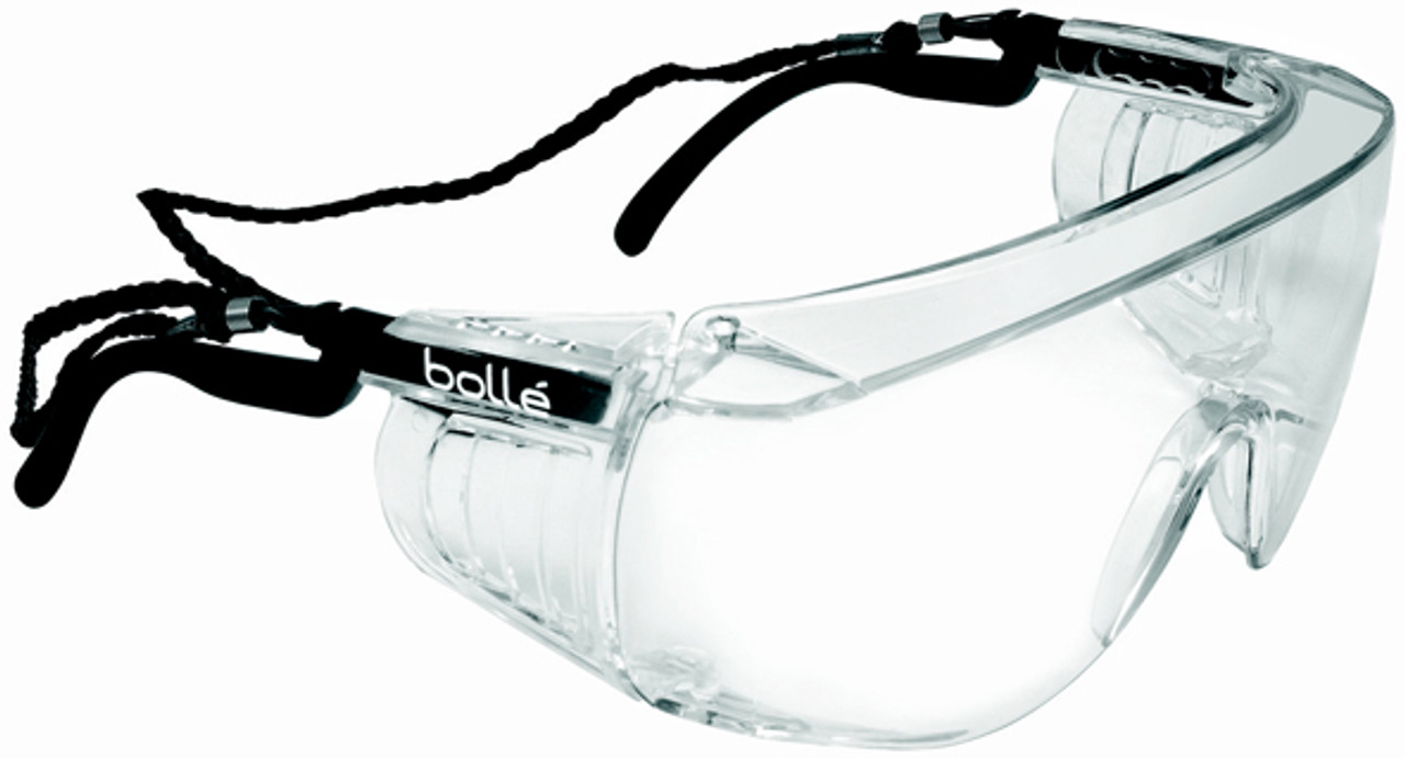 Bolle Cobra safety glasses spectacles with clear anti-scratch /& anti-fog lens