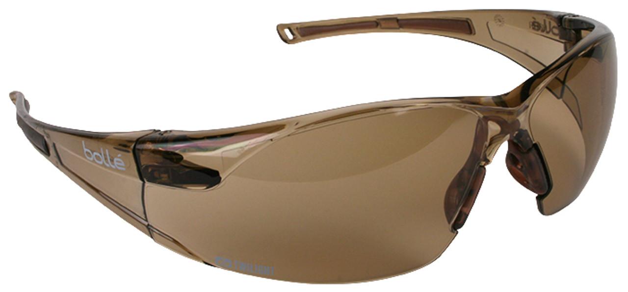 Bole Rush Smoke Dark Lens Safety Glasses Spectacles Anti Scratch Fog Cycling