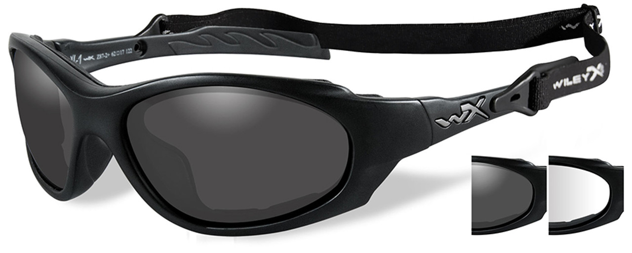 126e704655 wiley x xl 1 advanced safety glasses kit with grey  u0026 clear lenses  Motorcycle Goggles