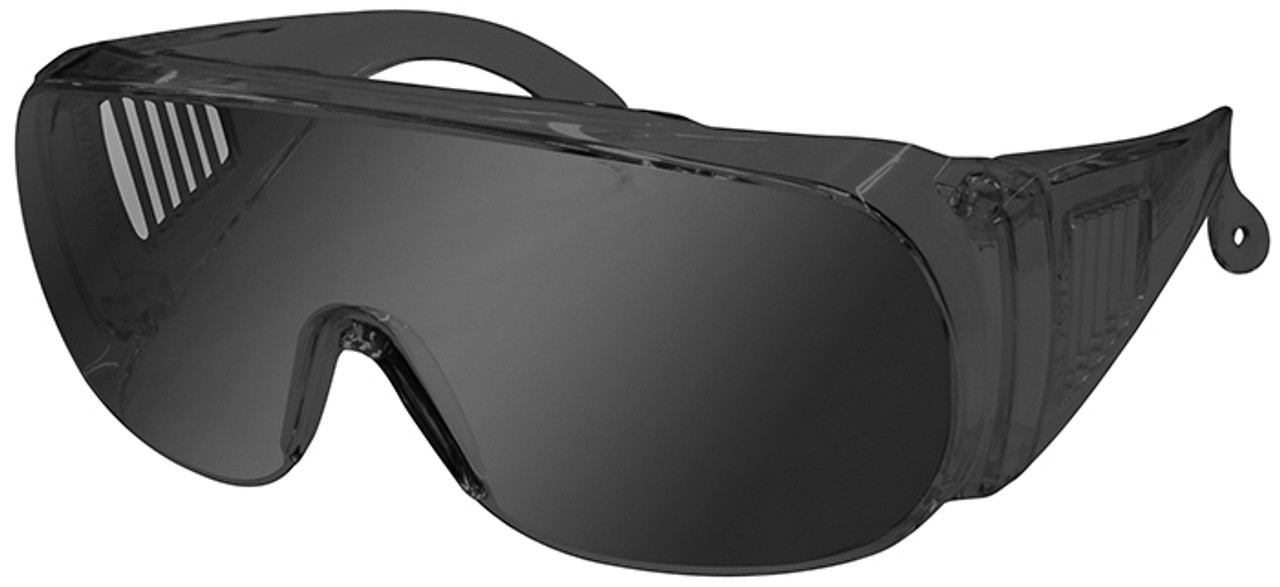ab70e0f291da Radians Chief Overspec Safety Glasses with Smoke Lens