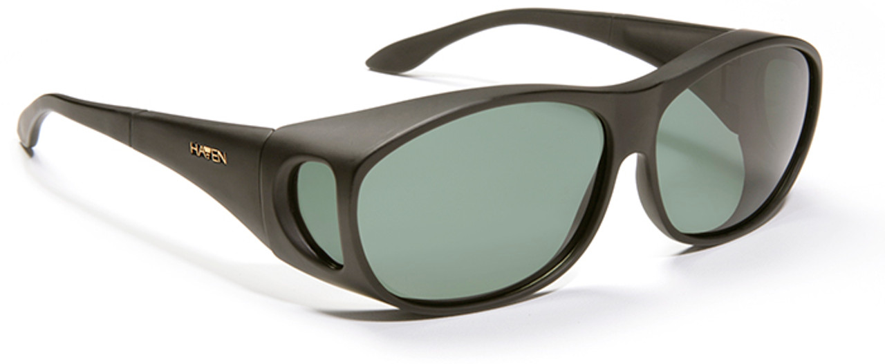 3c197e00ad Haven Meridian OTG Sunglasses with Black Frame and Gray Polarized Lens