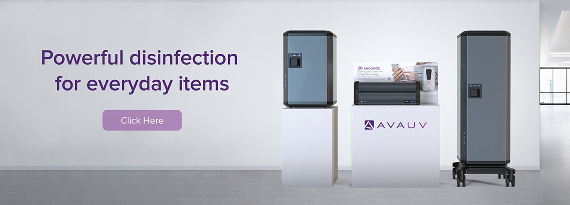 AvaUV UV Disinfection Cabinets