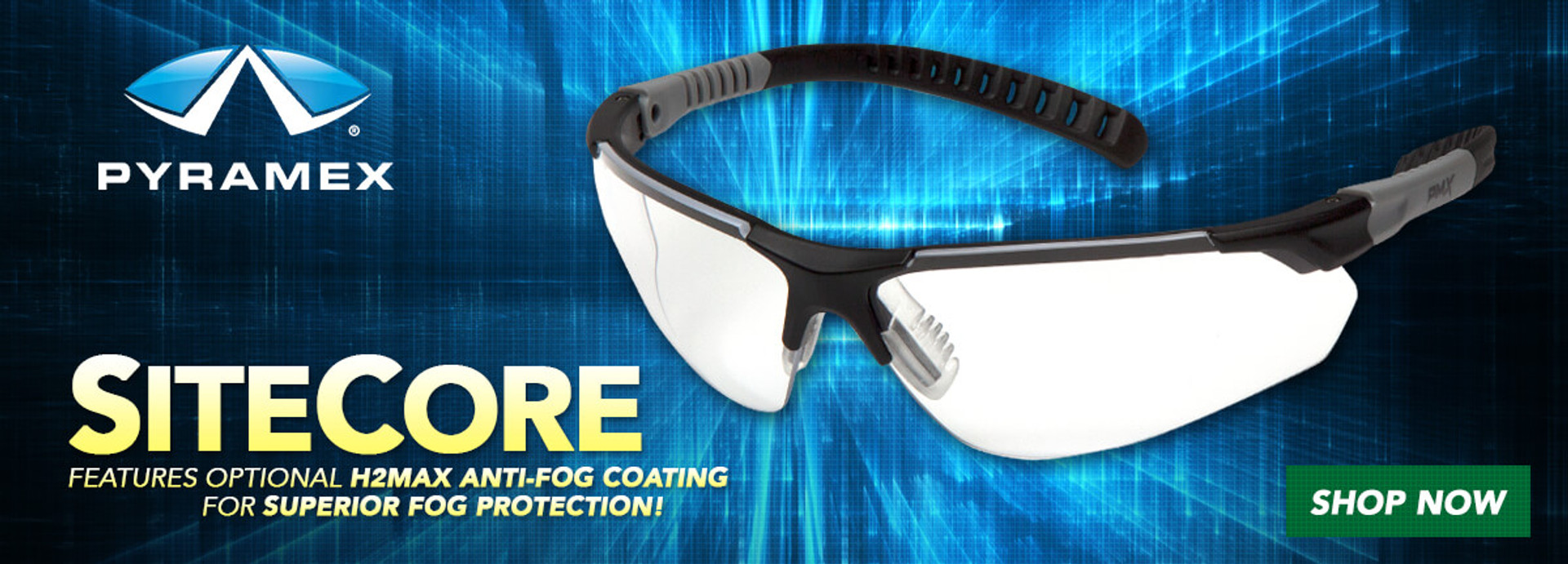 Pyramex SiteCore Safety Glasses & Sunglasses