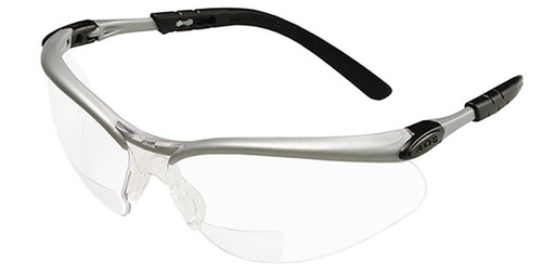 3M BX Bifocal Safety Glasses With Clear Anti-Fog Lens