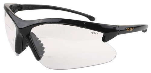 Olympic 30-06 Dual Segment Bifocal Safety Glasses With Clear Lens
