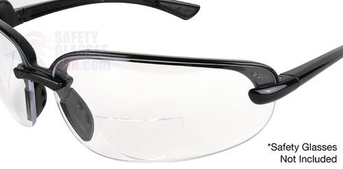 cdc598ab373 ... Optx 20 20 Hydrotac Stick On Bifocal Lenses On Sample Glasses