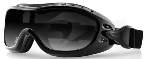 dd27d65b6c5 Bobster Night Hawk OTG Goggle with Black Frame and Anti-Fog Smoke Lens