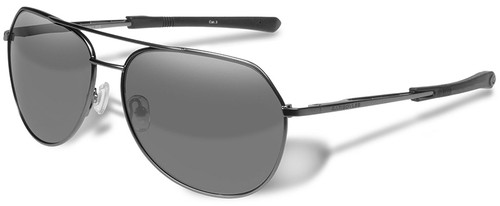 a1842e1613 Gargoyles Victor Sunglasses with Matte Dark Gunmetal Frame and Silver  Mirror Polarized Lens