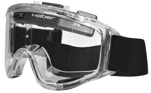 Haber Liquidator Splash Goggle with Single Clear Lens and Eliminator Fan HS-12139