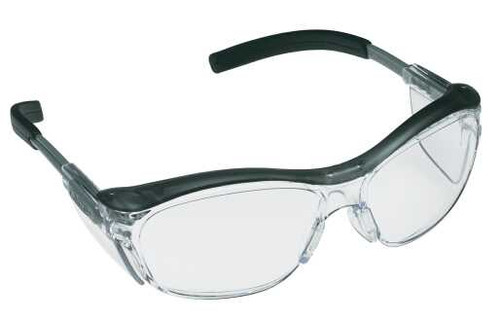 3M Nuvo Safety Glasses with Clear Anti-Fog Lens 11411