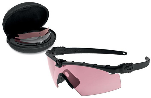 Oakley SI Ballistic M Frame 3.0 Array with Black Frame and Clear, TR22 and TR45 Prizm Lenses
