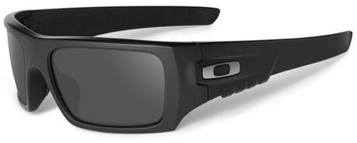 Oakley SI Ballistic Det Cord with Matte Black Frame and Grey Lens