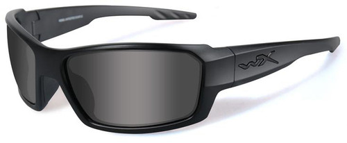 8c21f1123a0 Wiley X Rebel Black Ops Safety Sunglasses with Matte Black Frame and Smoke  Lens ...