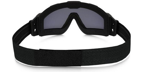18d520f8ac Oakley SI Ballistic Halo Goggle with Matte Black Frame and Grey Lens
