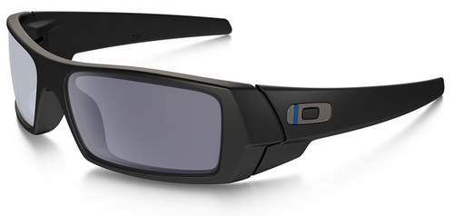 a222709a3a3 Oakley SI Thin Blue Line Gascan with Black Frame and Grey Lens