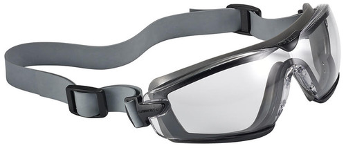 Bolle Cobra TPR Goggle with Gray Frame and Clear Platinum Anti-Fog Lens