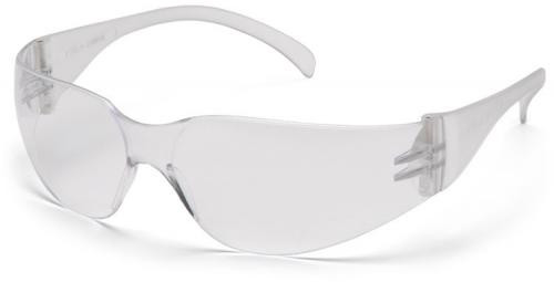 Pyramex Intruder Safety Glasses with Clear Uncoated Lens